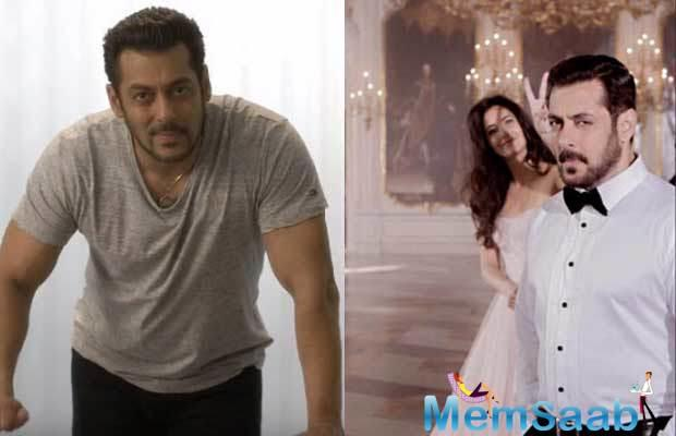 Salman Khan's no-intimacy clause with his heroines remains, yet if the lady with the puckered lips is Katrina Kaif.