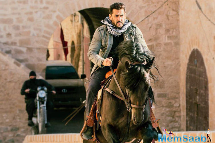 Tiger Zinda Hai is a spy thriller film. The last song of the movie was shot in the Aegean island of Naxos, Greece in October 2017.