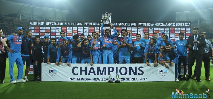 India sealed their 8th consecutive bilateral series with a 6 run win over New Zealand in the 3rd and final T20I at the Greenfield Stadium at Thiruvananthapuram on Tuesday.
