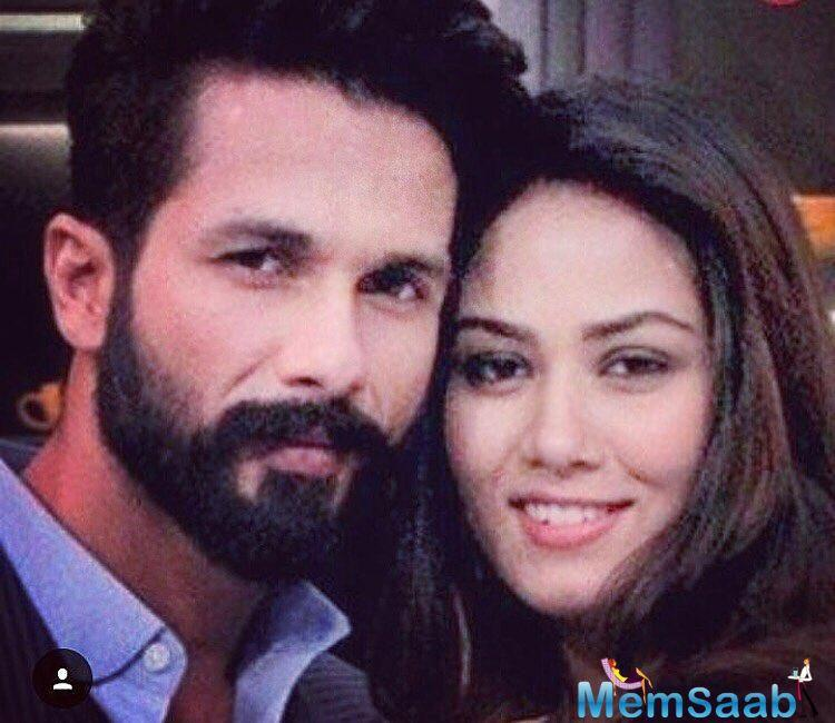 Talking about relationships, Shahid noted,