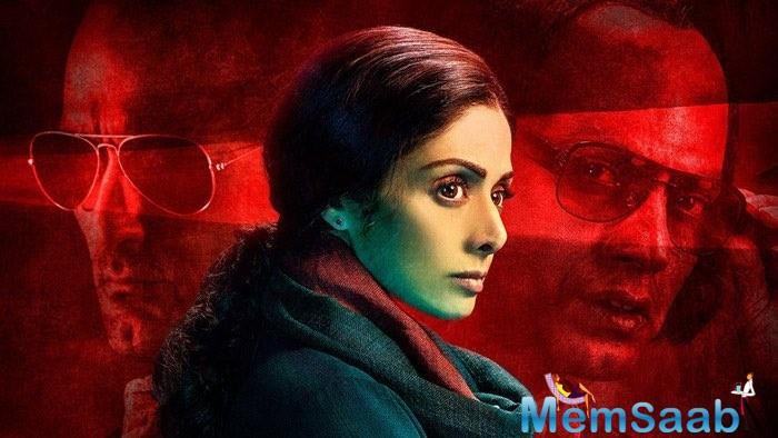 This intense drama thriller film 'MOM' is all set release in Russia under the title 'MAMA.'