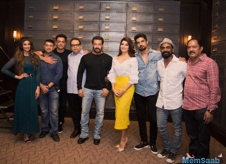 Race 3 cast finalized, After much talk, the highly anticipated film 'Race 3' finally went on floors on Thursday.