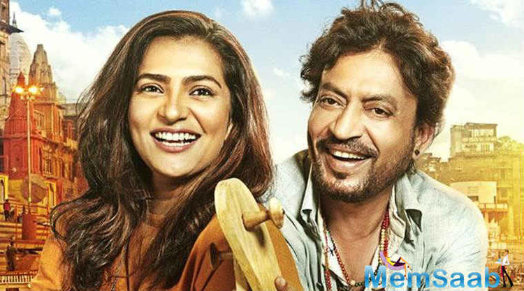 After 9 years, Tanuja has now come out with her film, 'Qarib Qarib Singlle,' which stars Irrfan and Parvathy in the lead.