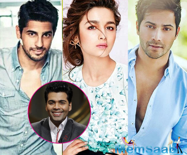 Ever since Varun and Alia Bhatt have become BFFs after the latter's break up with Sidharth, things haven't been as hunky-dory. Apparently, the distance between Varun and Sidharth has widened.