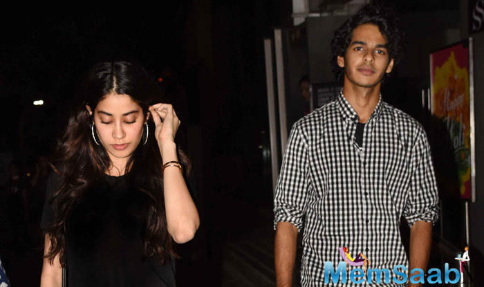 There's a lot that has been spoken about Sridevi's gorgeous elder daughter Janhvi Kapoor and Shahid Kapoor's half-brother Ishaan Khatter.