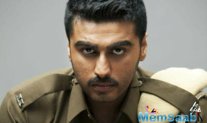 Recently, the makers revealed Arjun Kapoor's tough cop look in the film. Arjun Kapoor plays a Haryanvi cop in YRF's