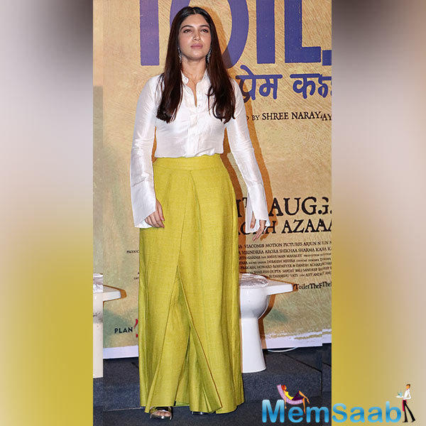 After, Byomkesh Bakshi, this is Sushant's second-period film, wherein, Bhumi will be seen in a different role and it will surely be new and fresh from what we have already seen her doing in the previous films.