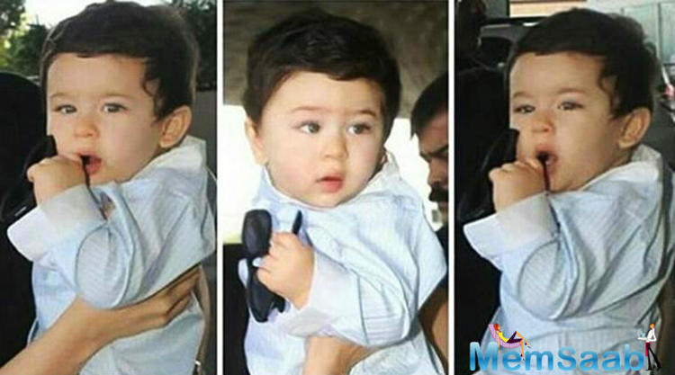 """When he was asked, what will be Taimur's gift this Children's Day? The doting daddy didn't think twice before saying, """"I think I'll give him this car."""