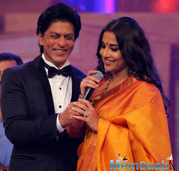 We have hardly seen Vidya in a film with any of the superstars. In fact, other than Emraan Hashmi she has not worked with any truly big name. Does she not want to work with someone like a Shah Rukh Khan?