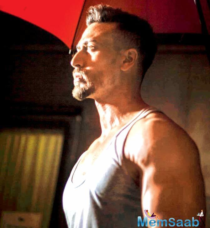 Tiger Shroff's lustrous curls seem to hinder the vision that the makers of Baaghi 2 have for their leading man.