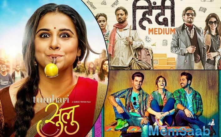 Hindi Medium and Bareilly Ki Barfi did really well on the basis of word of mouth this year were Hindi Medium and Bareilly Ki Barfi.