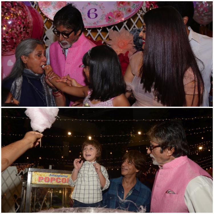 Amitabh Bachchan also took to his blog to write about the birthday party and the