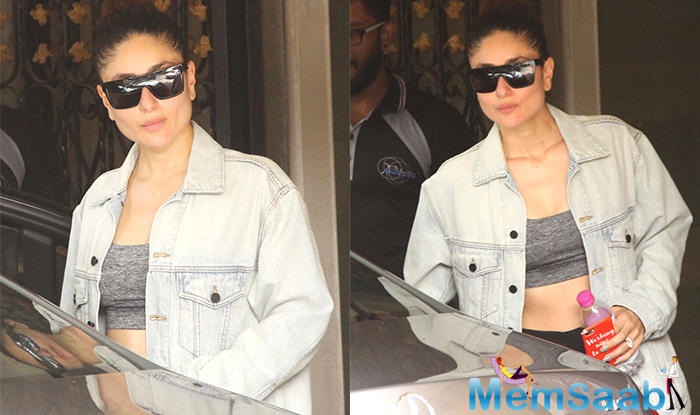 Currently she is busy with the shooting of 'Veere Di Wedding'. The actress was recently snapped by the shutterbugs outside a gym.