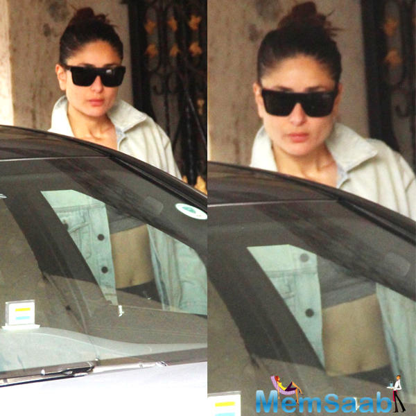 Kareena Kapoor Khan flaunts her washboard abs as she steps out of the gym