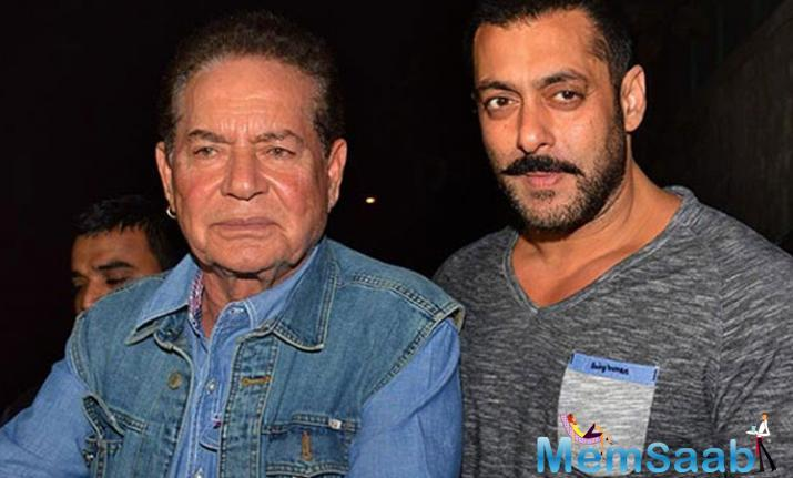 On the occasion of 53rd wedding anniversary, Salman Khan sings a song for his parents