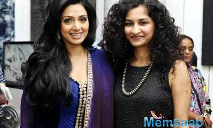 Bollywood diva Sridevi announced her return to the big screen with the critically acclaimed film 'English Vinglish'.