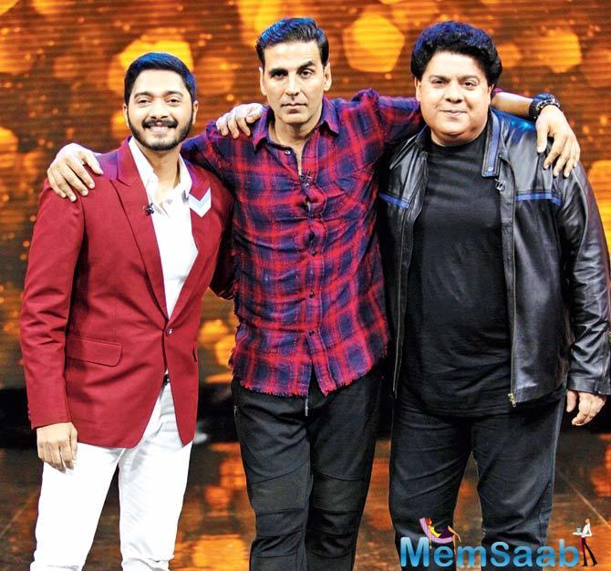 The Great Indian Laughter Challenge TRPs get a boost after Sajid Khan and Shreyas Talpade Join Show
