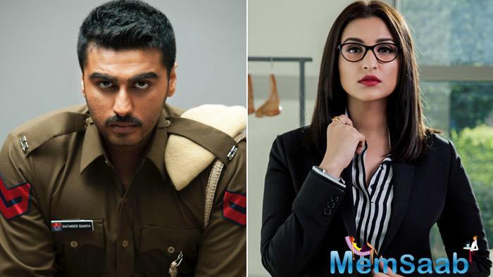 Now she is preparing for her upcoming film YRF's next Sandeep Aur Pinky Faraar  with her Ishaqzaade co-star Arjun Kapoor.