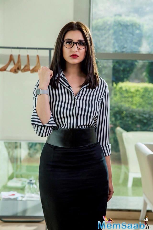 In Sandeep Aur Pinky Faraar, Parineeti will be playing a sharp corporate woman in the movie.