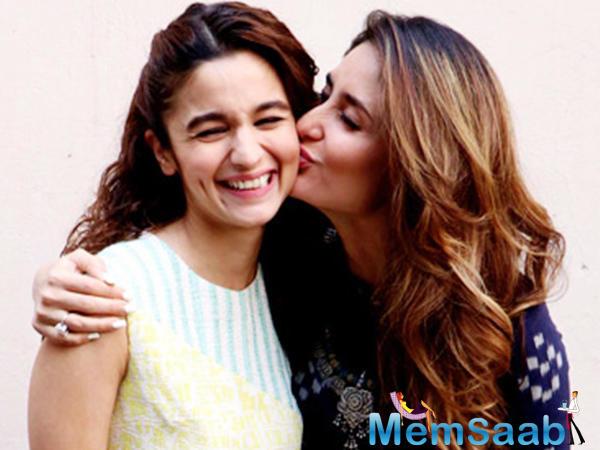 Alia and Kareena had worked together in the film 'Udta Punjab'.