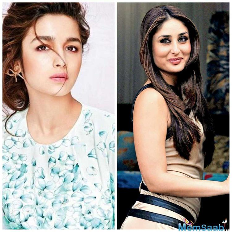 We all known that, how many times Alia Bhatt admitted that she is a biggest fan of Kareena Kapoor Khan