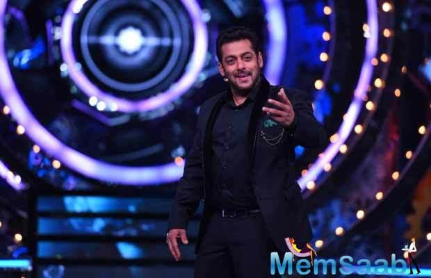 Currently, Salman Khan is busy  with his reality show Bigg Boss 11, reportedly Race 3' team will visit its lead hero Salman Khan on sets of the show.