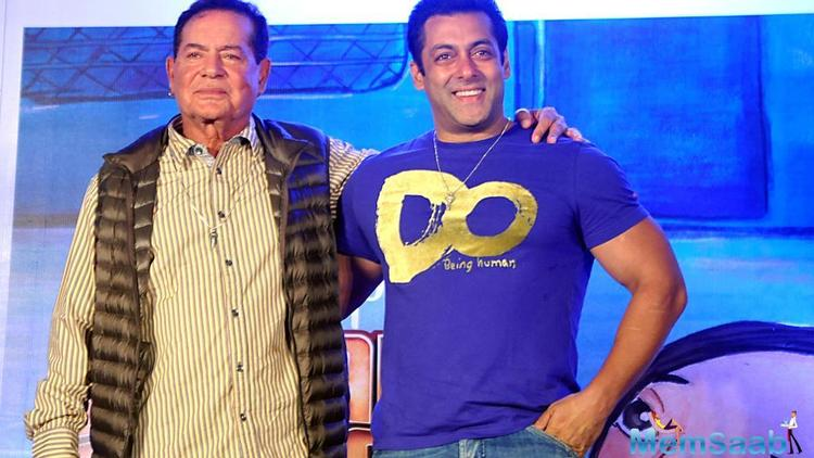 Bollywood's families have always been close knit, and clannish. A good example of this is Salman Khan's family.