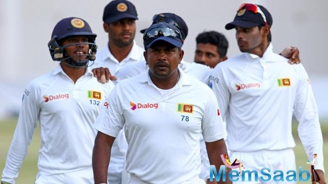 However, Vijay's knock came to an end, after Rangana Herath provided a vital breakthrough for the visitors.