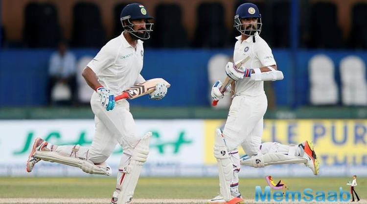 India dominated the second day of the second Test against Sri Lanka at the Vidarbha Cricket Association ground on Saturday, taking a 107-run lead in the innings.