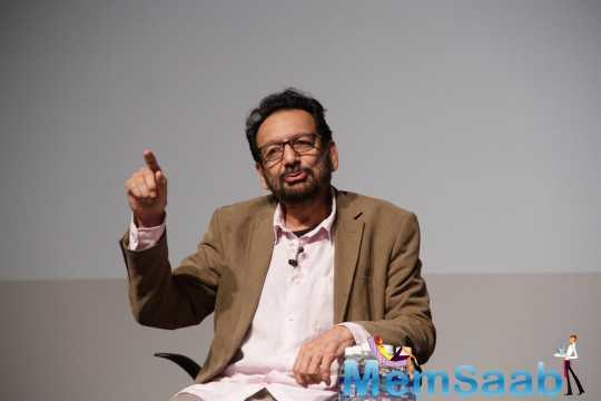 Shekhar said when he was making the first Elizabeth (featuring Cate Blanchett) movie, there were constant statements in the media, criticising him for his portrayal of the queen.