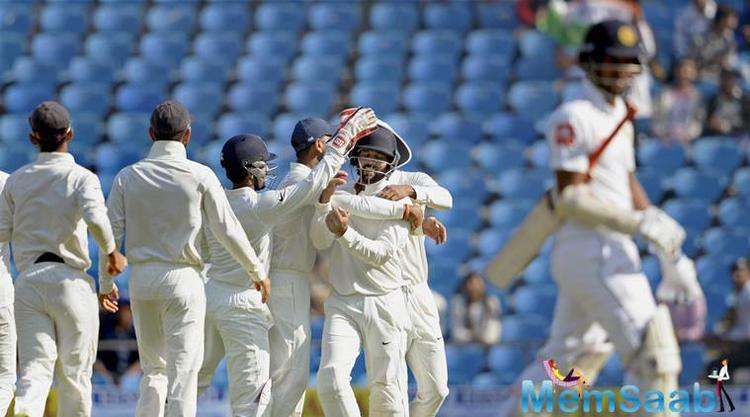 The Test match at the Vidarbha Cricket Association was completely dominated by Virat Kohli's men, after having restricted Dinesh Chandimal's team to 205 in the first innings.