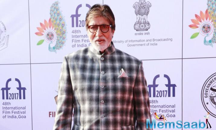 The veteran star was honoured for his outstanding contribution to the Indian film industry.