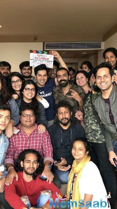 The film's team finished the last day of the shoot in Manali and Sircar says they will celebrate it with a small party.