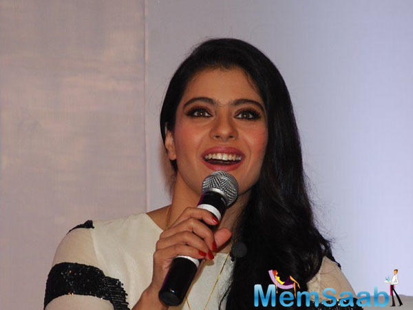 Kajol was talking on the sidelines of Lifebuoy event of Help A Child Reach 5.