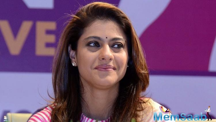 Sometimes there are words which I don't understand when they are talking, so they tell me the meaning with a lot of patience and ease, Kajol added.