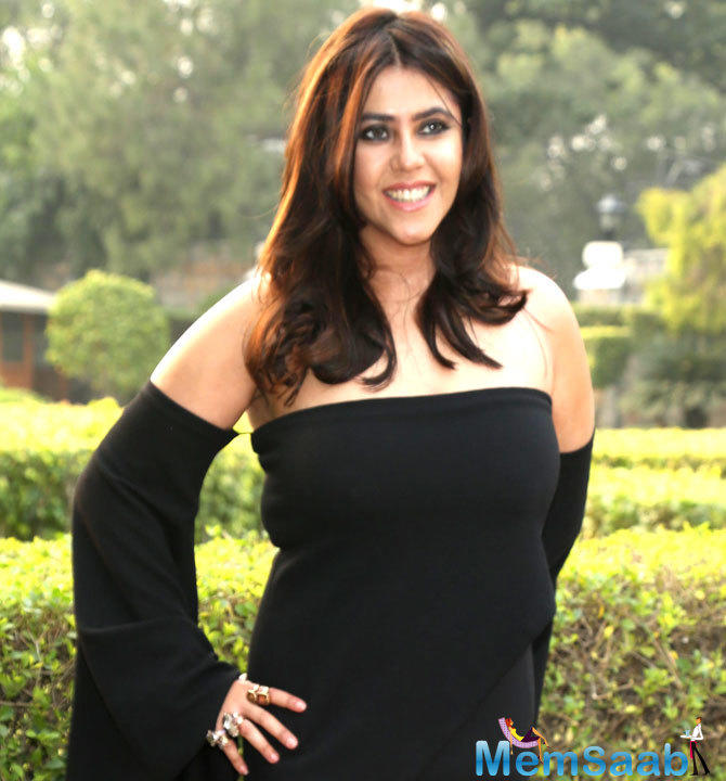 TV tsarina Ekta Kapoor is not a fan of politics.