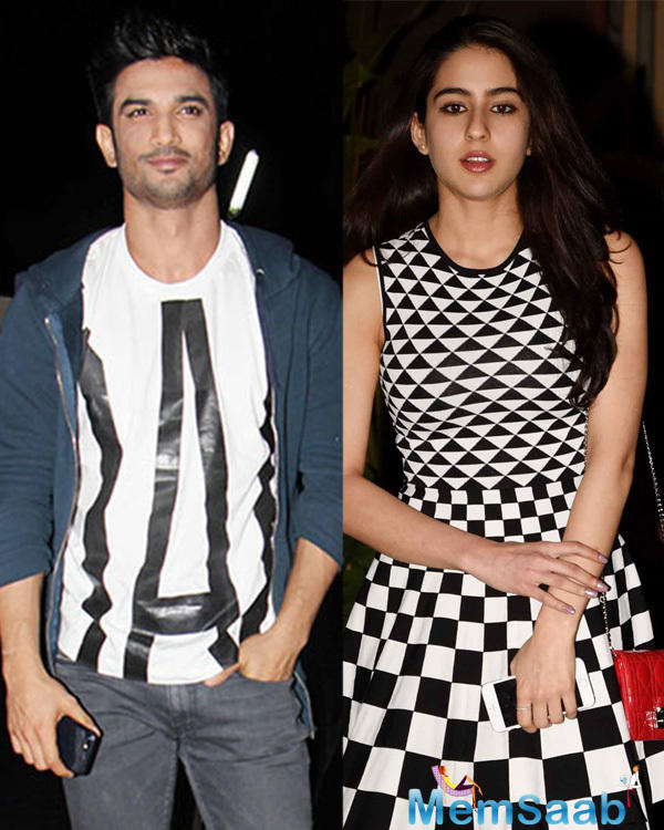 A month ago, Sushant Singh Rajput and Sara Ali Khan started the first schedule of Kedarnath with director Abhishek Kapoor.