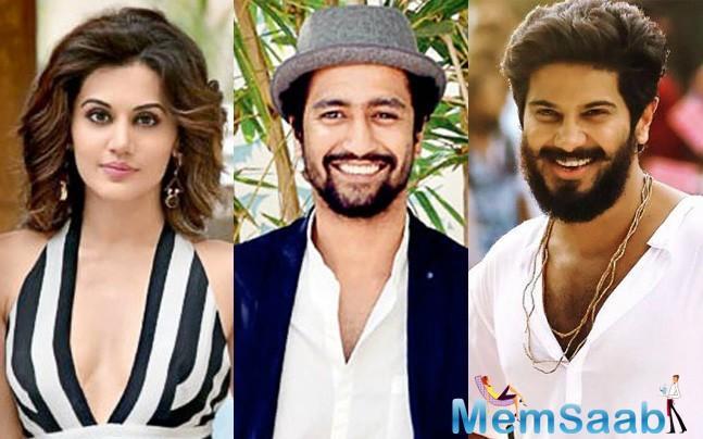 He will next be seen as Gemini Ganesan in 'Mahanati,' a biopic on yesteryear actress Savitri, and as infamous Malayalee fugitive criminal Sukumara Kurup in Srinath Rajendran's next.