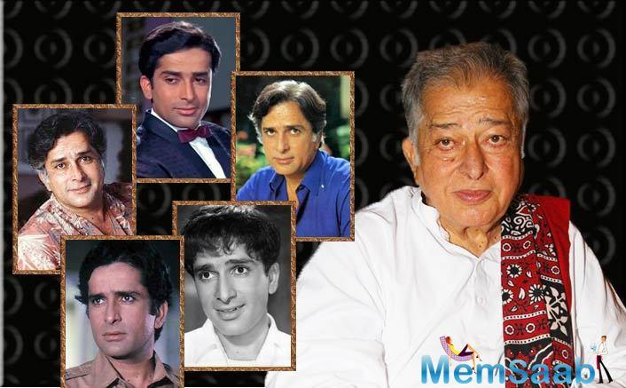 "Anushka Sharma, ""An era of great cinema belongs to you and will always do so. RIP respected #ShashiKapoor Ji""."