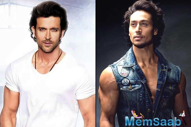The actor, who sees Hrithik as his idol in many ways, is excited about the project and has said so himself.