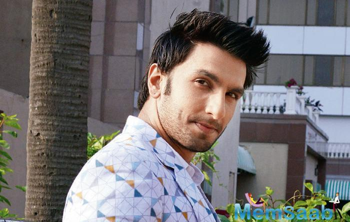 Interestingly, Ranveer plays a flamboyant character in both his forthcoming movies, Padmavati and Gully Boy.