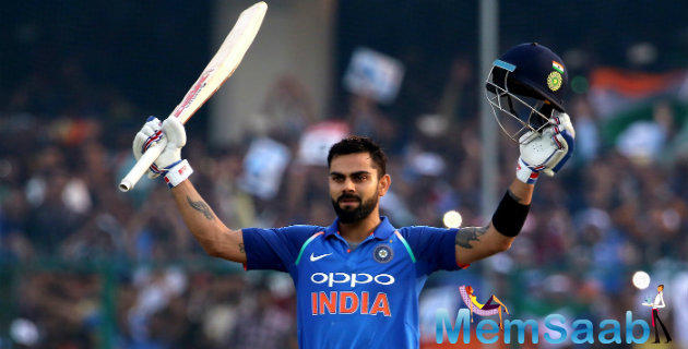 Virat Kohli said it had been disappointing not to have finished off the match but he also gave credit to the visitors.