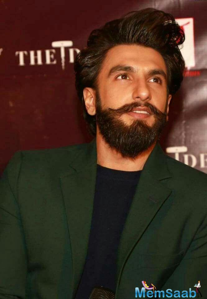 The first look poster of the film is out now, featuring Ranveer Singh as a cop.