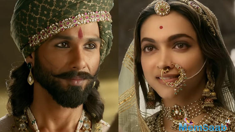 While the one of Rajput groups, death threats to Deepika,  on the other hand, she has been applauded for his royal looks and elegance by everyone in 'Padmavati',.