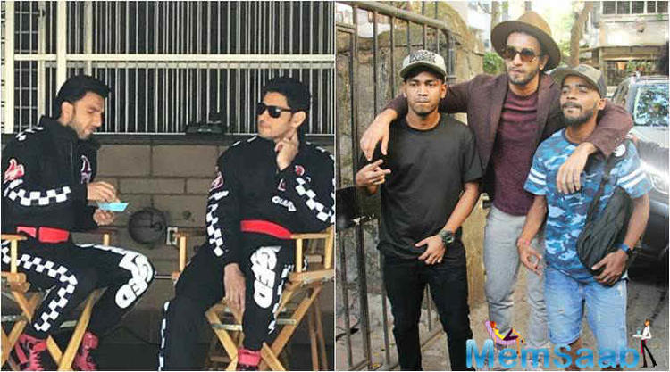 Bollywood's livewire Ranveer Singh and South superstar Mahesh Babu will soon hit the small screen together with their new commercial.