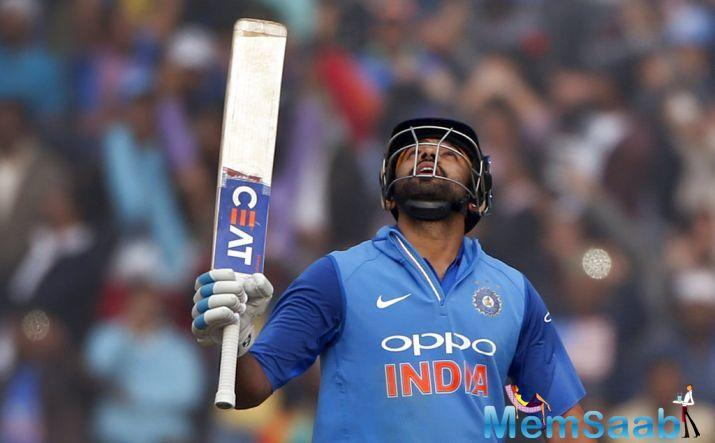 Shikhar Dhawan scored 68 while Mumbai batsman Shreyas Iyer scored 88 runs. MS Dhoni and Hardik Pandya were dismissed quickly.