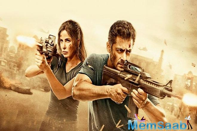The first part, 'Ek Tha Tiger', was also not cleared for the release in Pakistan.