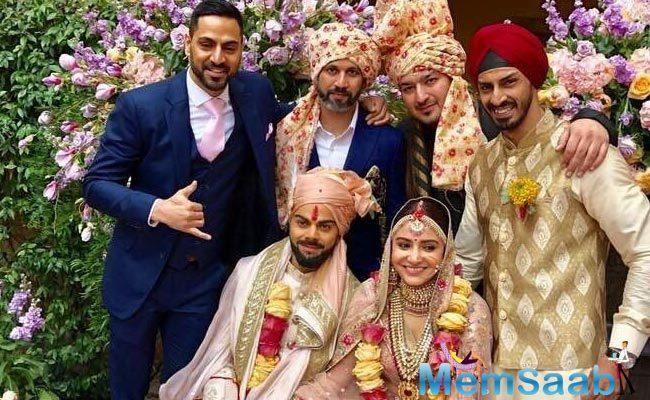 Anushka took out some time to specially mention and thank the people who were actually responsible for making her wedding happen.