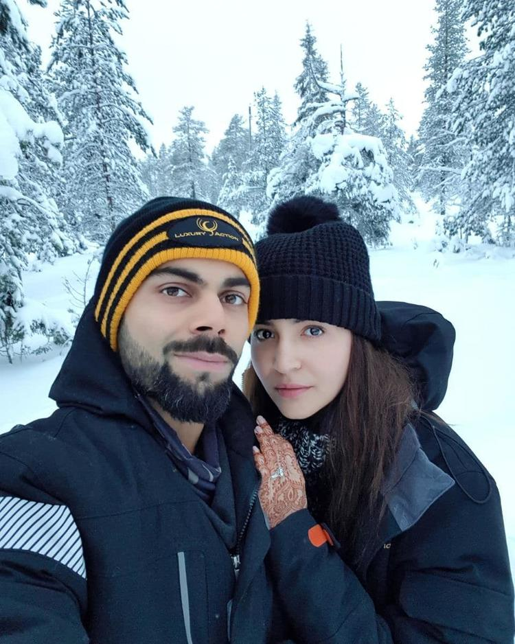 And now Anushka just gave us a glimpse of her honeymoon with Virat Kohli.