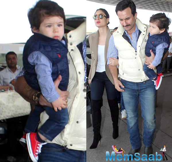Less than a year old, Kareena Kapoor and Saif Ali Khan's son Taimur is already one of the most loved celebrity kids in Bollywood.
